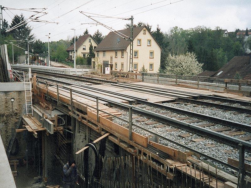 Fotogalerie prováděných prací z akce: Bretten  SRN  -  železniční stanice