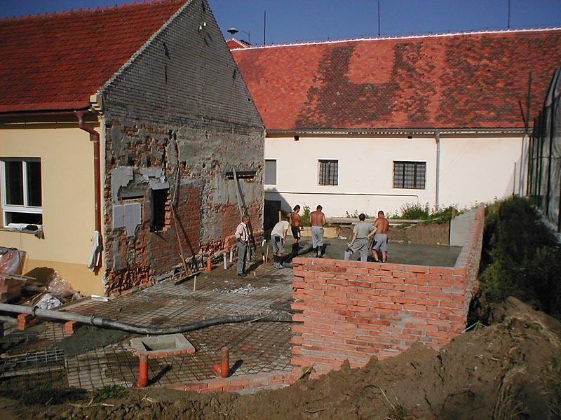 Fotogalerie prováděných prací z akce: Orel - Domanín