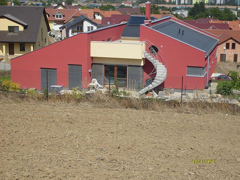 Fotogalerie prováděných prací z akce: Rodinný dům - Ostopovice