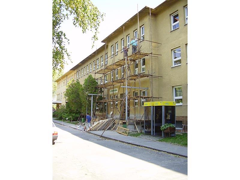 Fotogalerie prováděných prací z akce: Poliklinika - Veselí