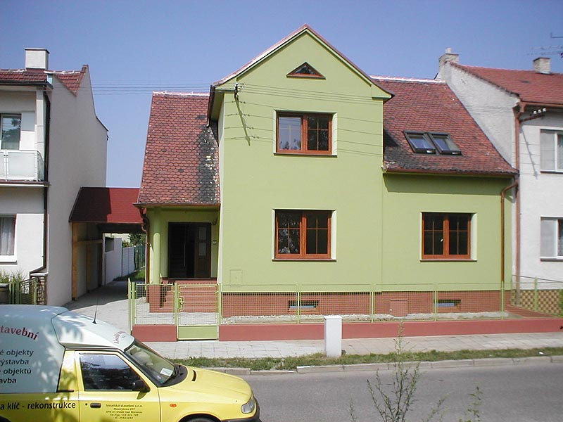 Fotogalerie prováděných prací z akce: Rodinný dům -  Veselí nad Moravou